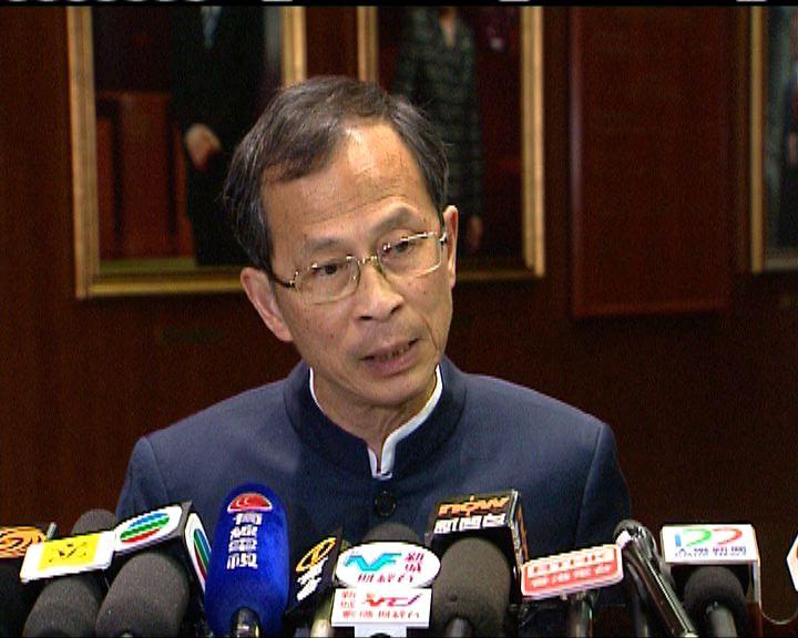 曾鈺成:憂示威升級 立法會與警商對策