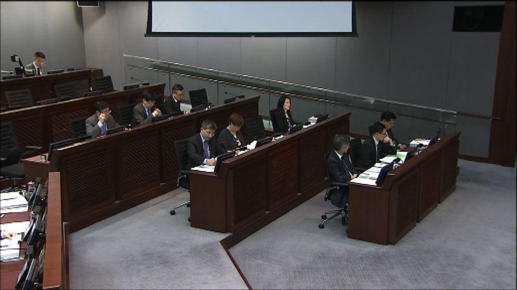 工務小組審議擴建東涌撥款申請
