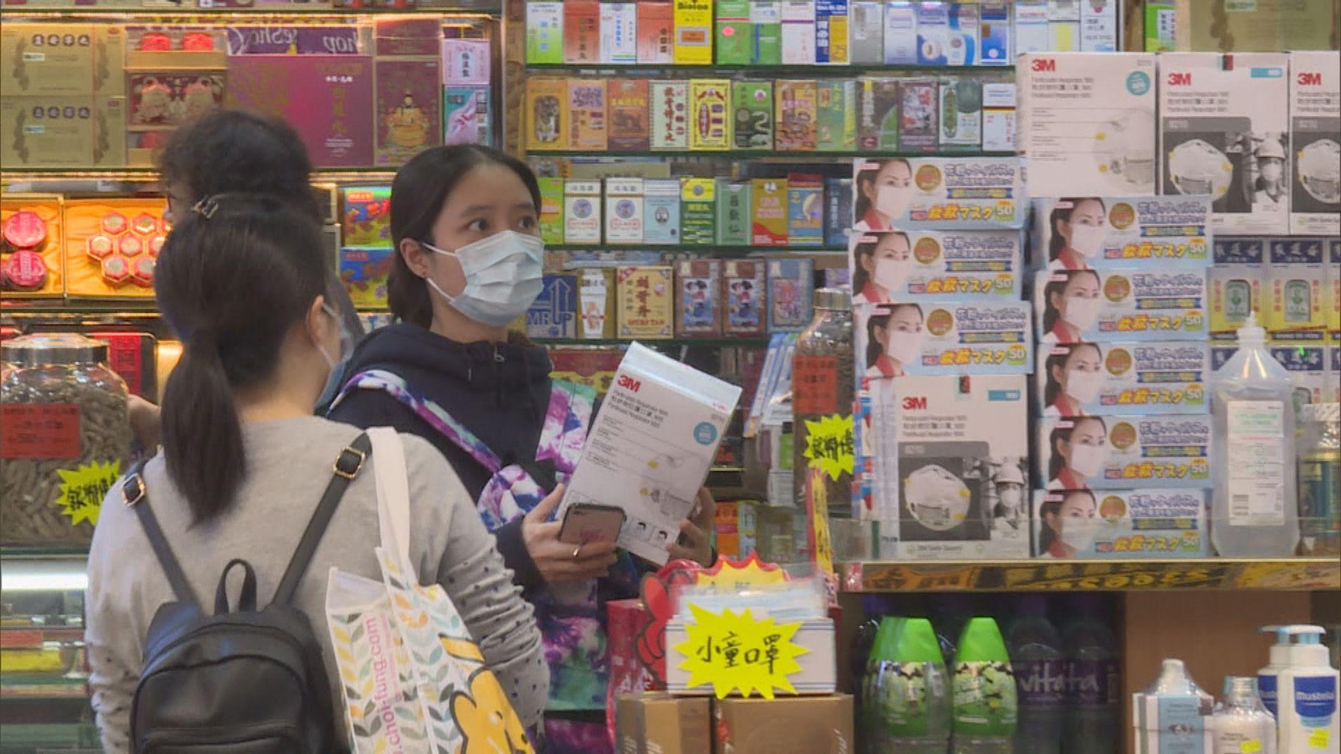勞工處籲僱主為員工提供外科口罩等個人防護裝備