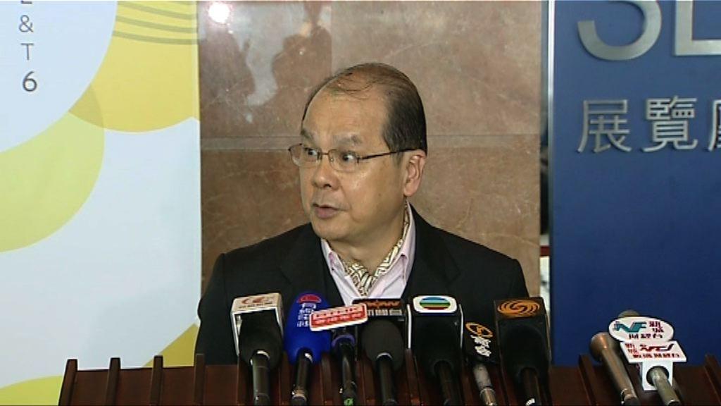 張建宗:政府嚴格把關輸入外勞計劃