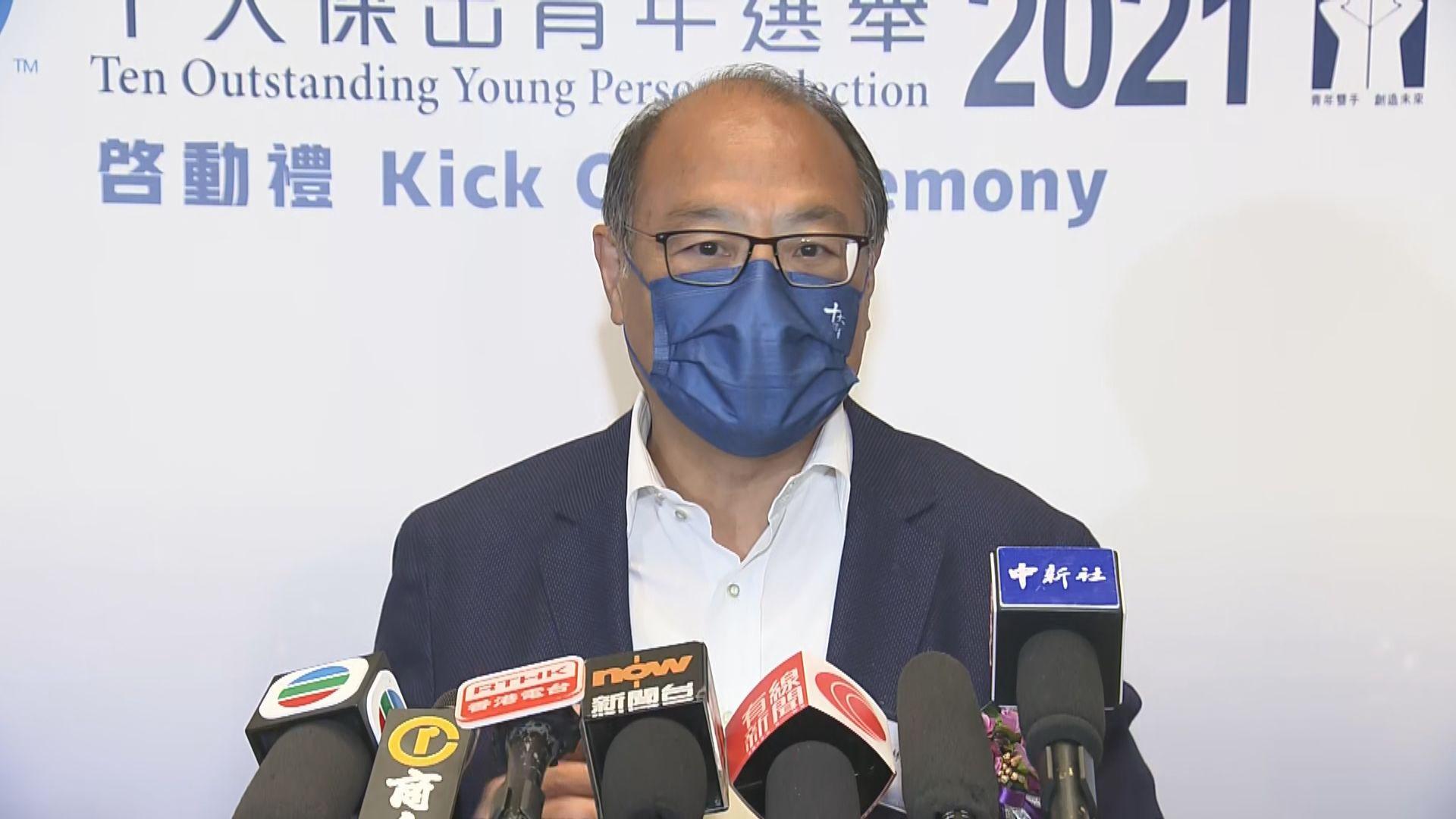 林大輝︰體院逾五百人已接種疫苗 東奧若舉行必出席