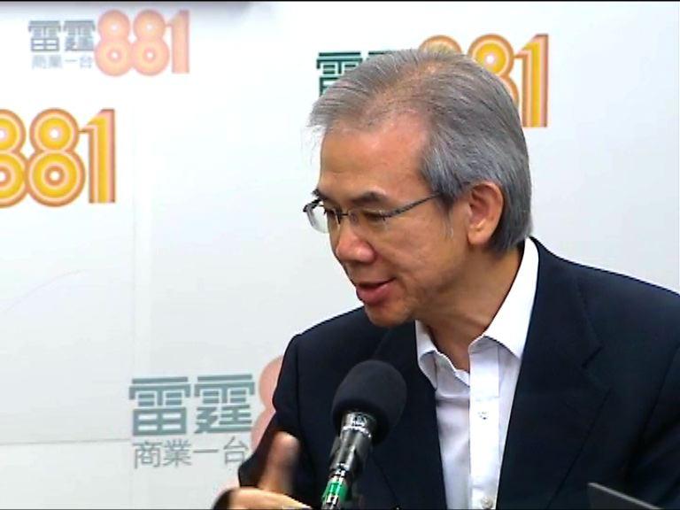 林煥光:政改不通過 難啟動普選立法會