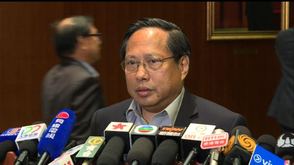 何俊仁:警方指林榮基只被傳媒跟蹤過於武斷