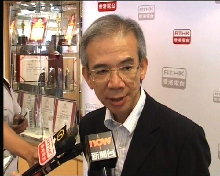 林煥光:暴力衝擊破壞香港形象