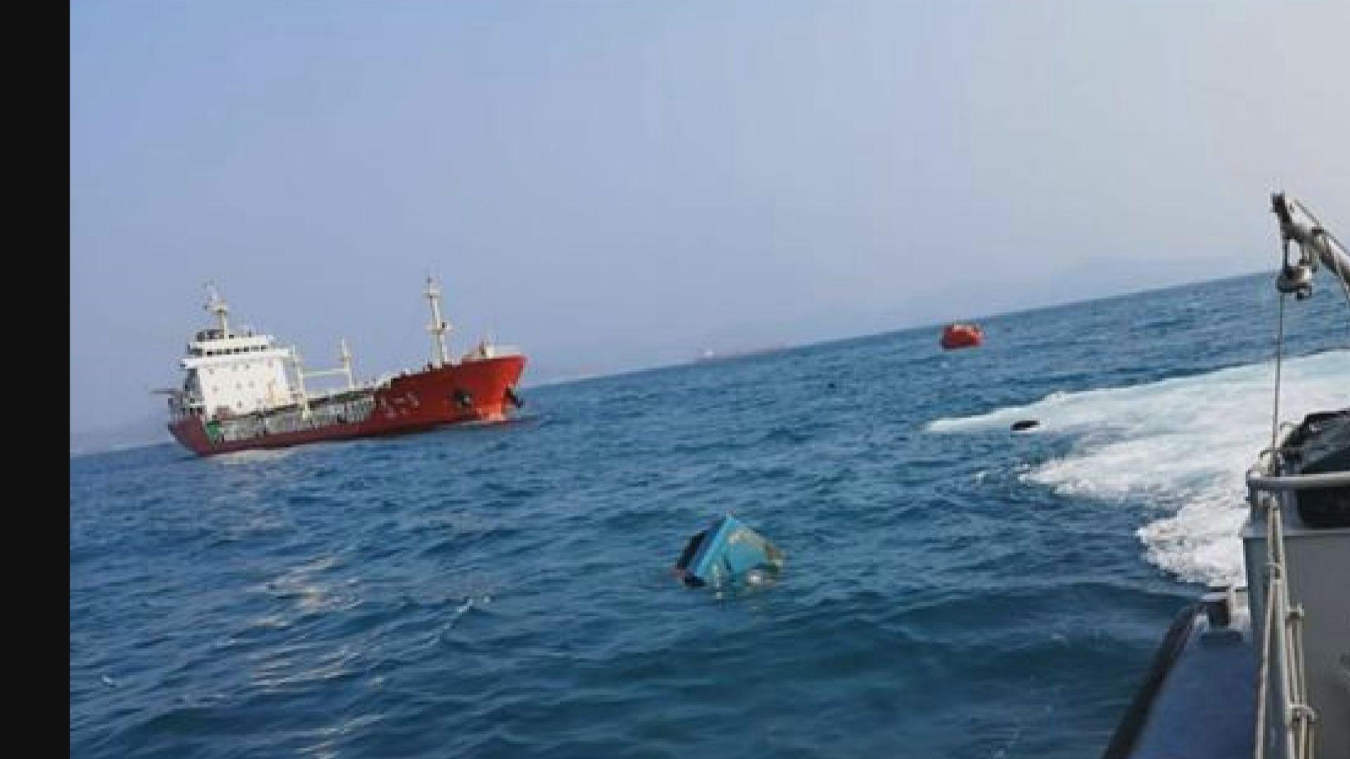 海上事故協調中心正統籌搜救失蹤漁民