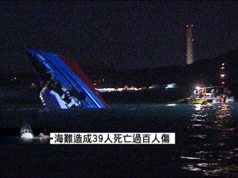 南丫海難17名海事處人員涉行為不當