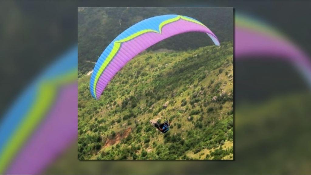 當局擴大搜救玩滑翔傘失蹤男子範圍
