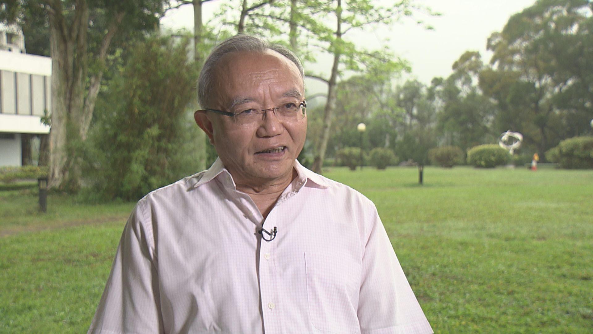 劉兆佳:韓正晤林鄭月娥顯示中央非常重視三場選舉