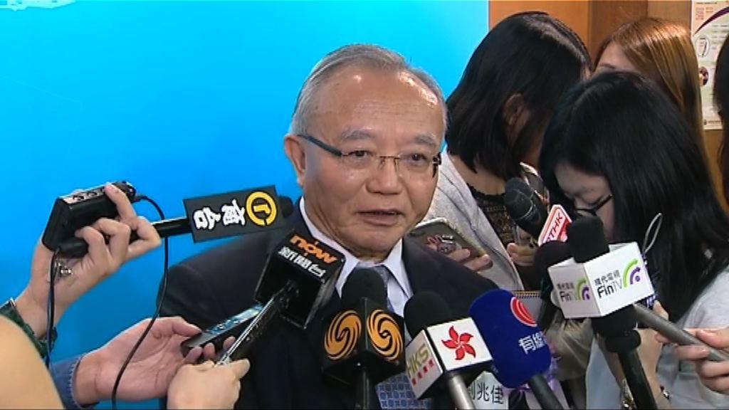 劉兆佳:內地人員於香港高鐵站執法做法可行
