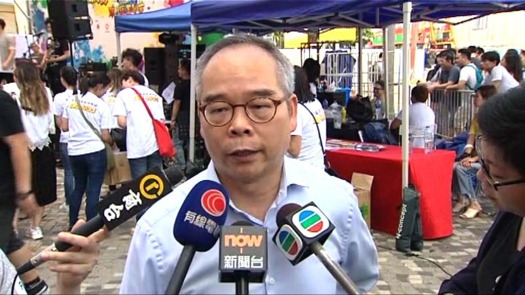 劉江華:冀青年自薦加入政府委員會反映意見