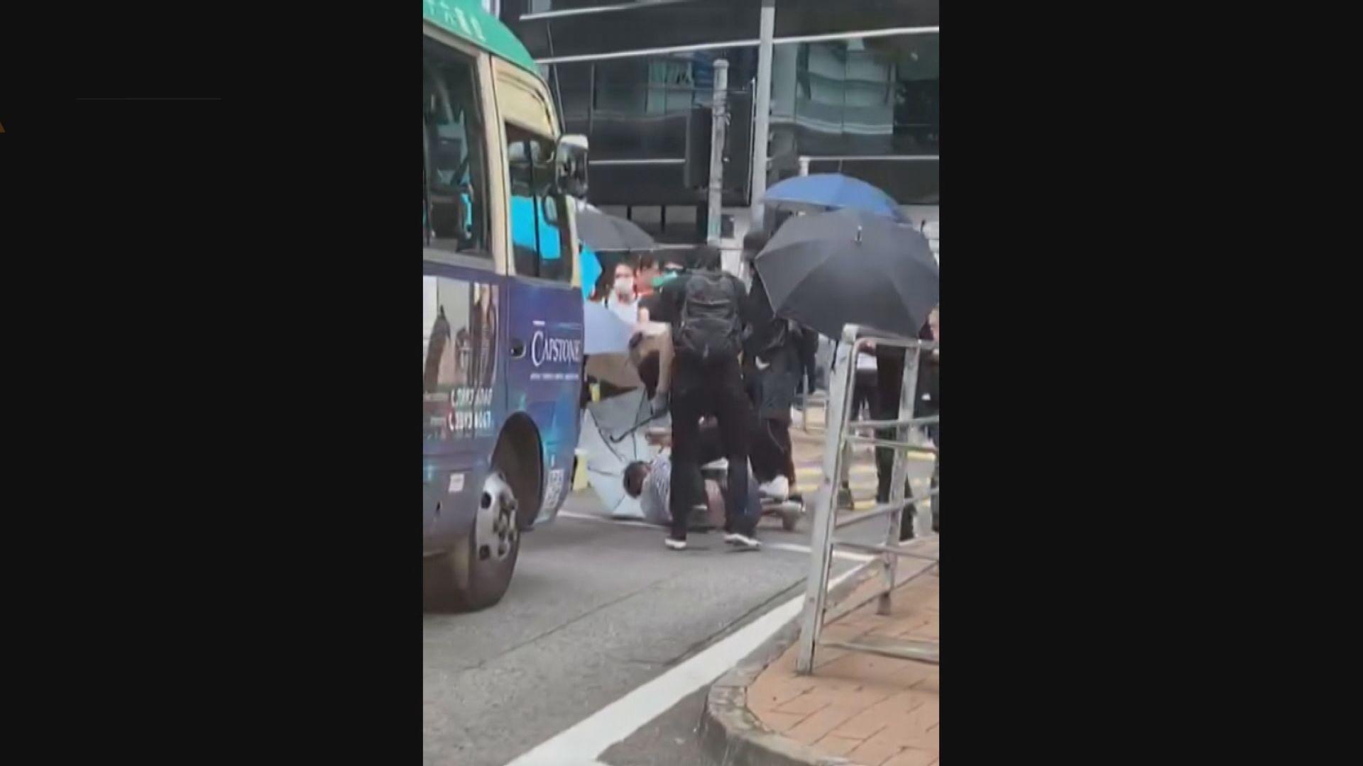 律師會稱該會一名會員銅鑼灣被襲 對事件感痛心及憤怒