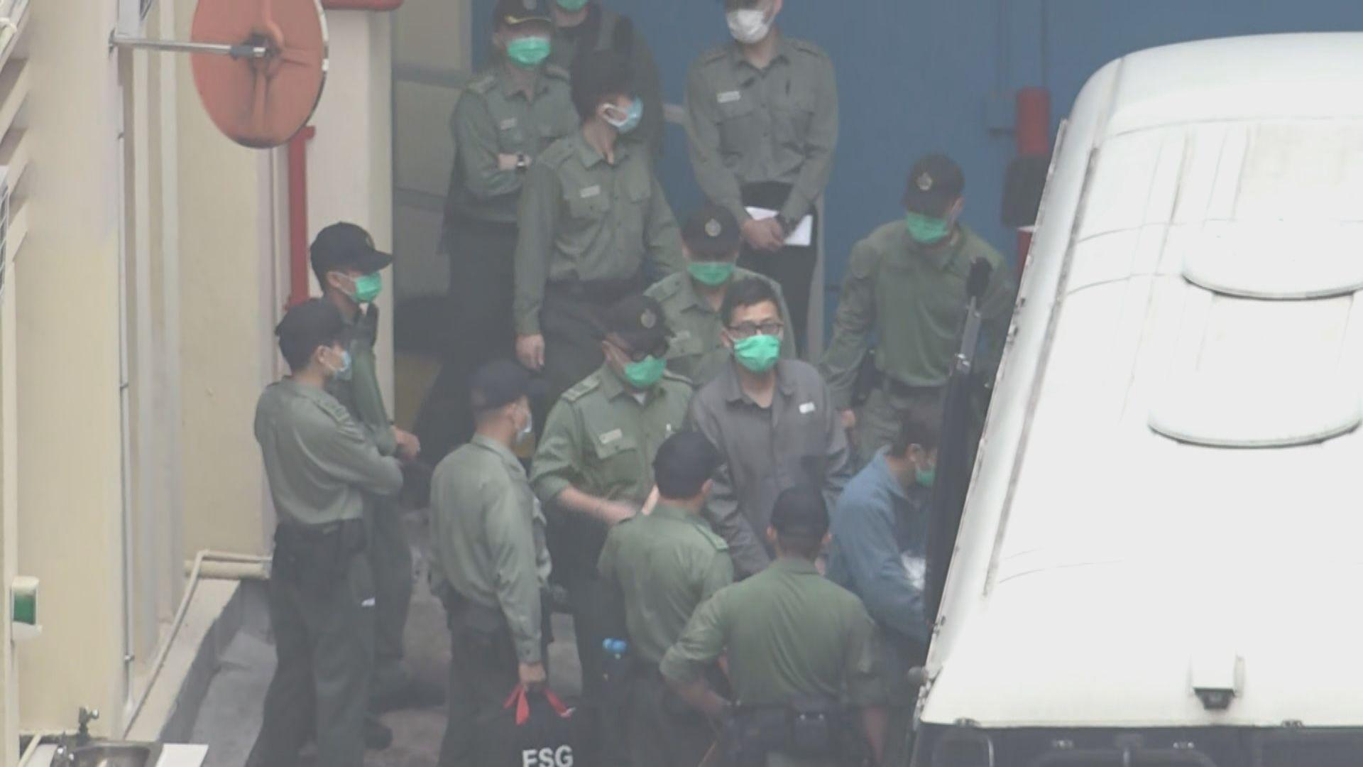初選案部分被告轉到赤柱監獄關押 家屬日內未能探訪