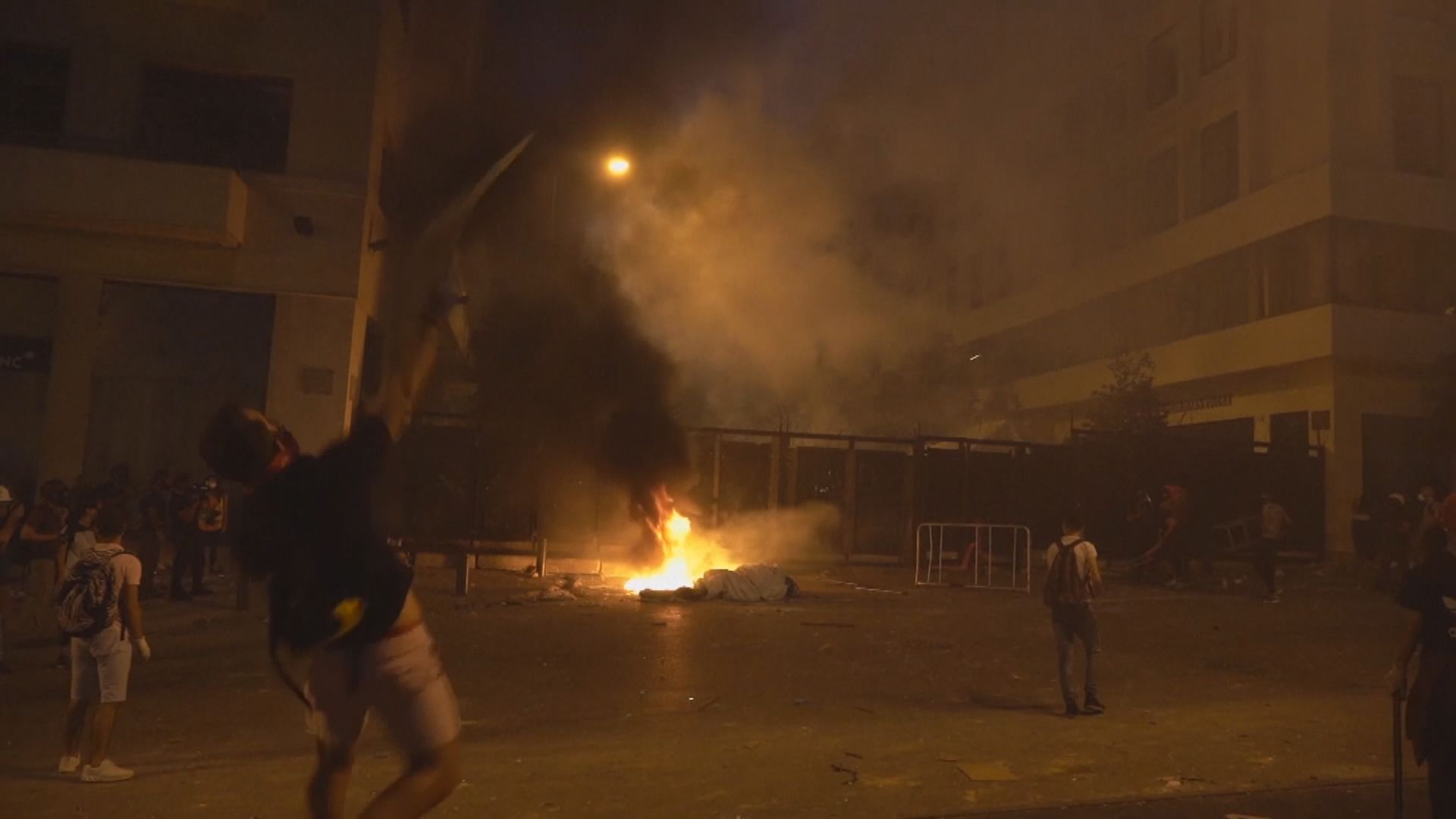 貝魯特大爆炸引發反政府示威持續