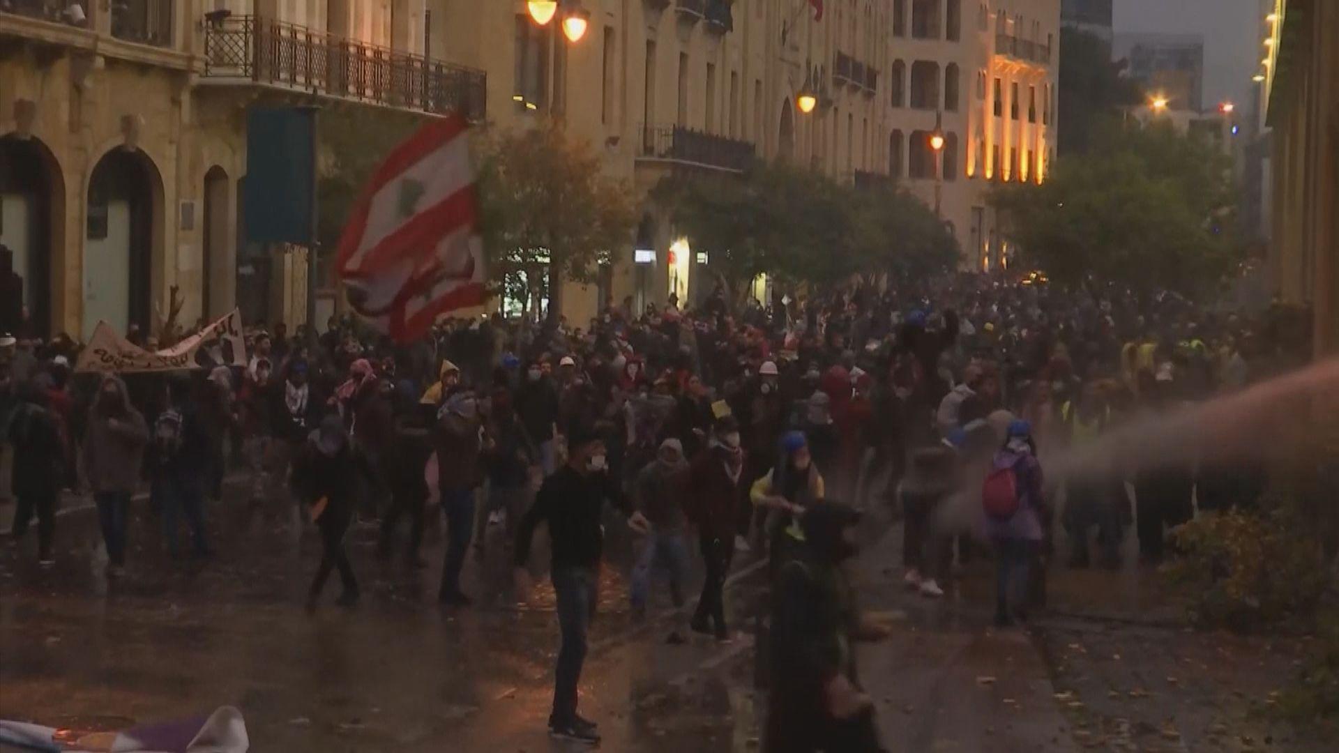 黎巴嫩再爆發反政府示威 逾百五人受傷