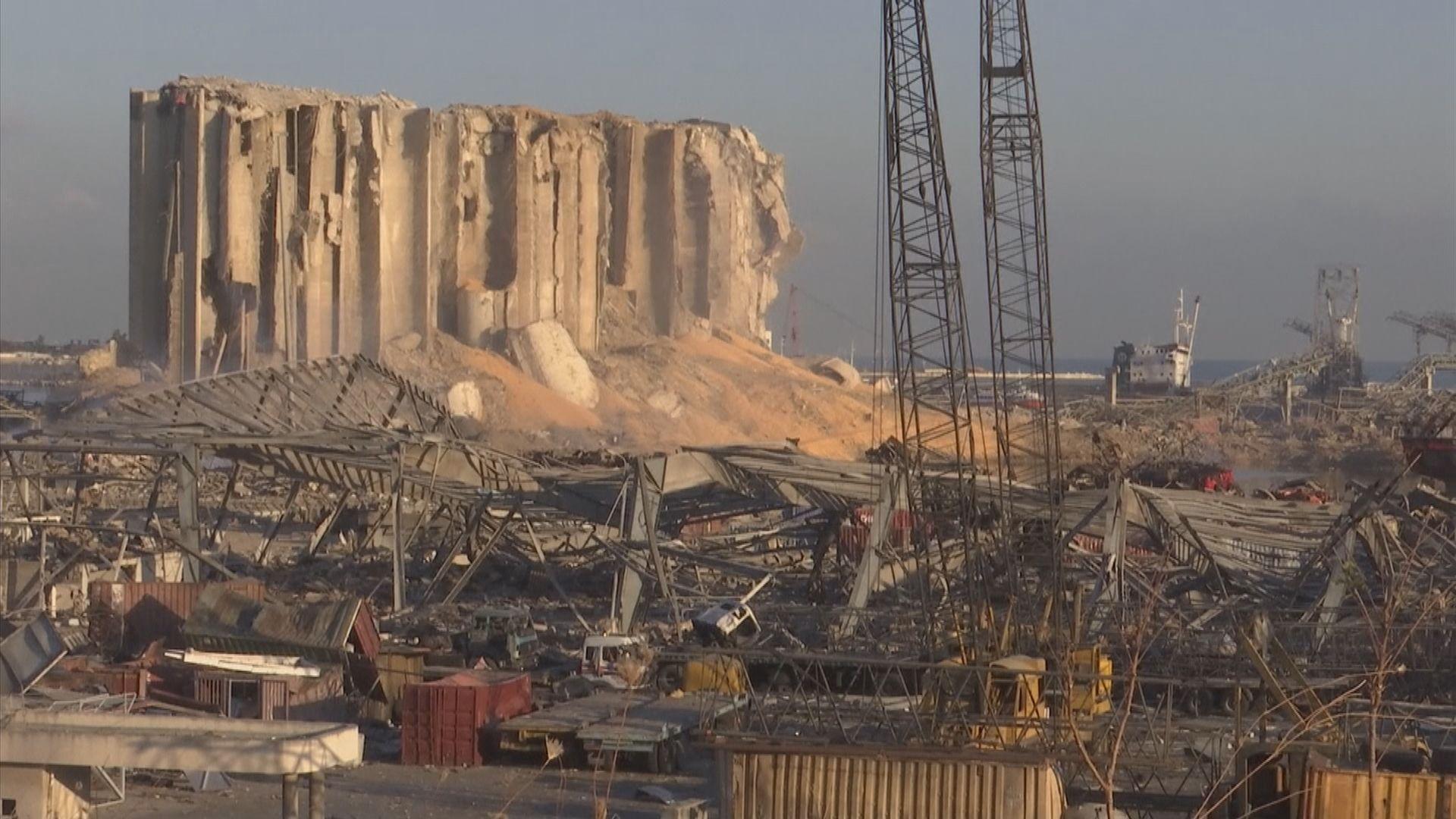 黎巴嫩總統指不排除有外部介入導致爆炸發生