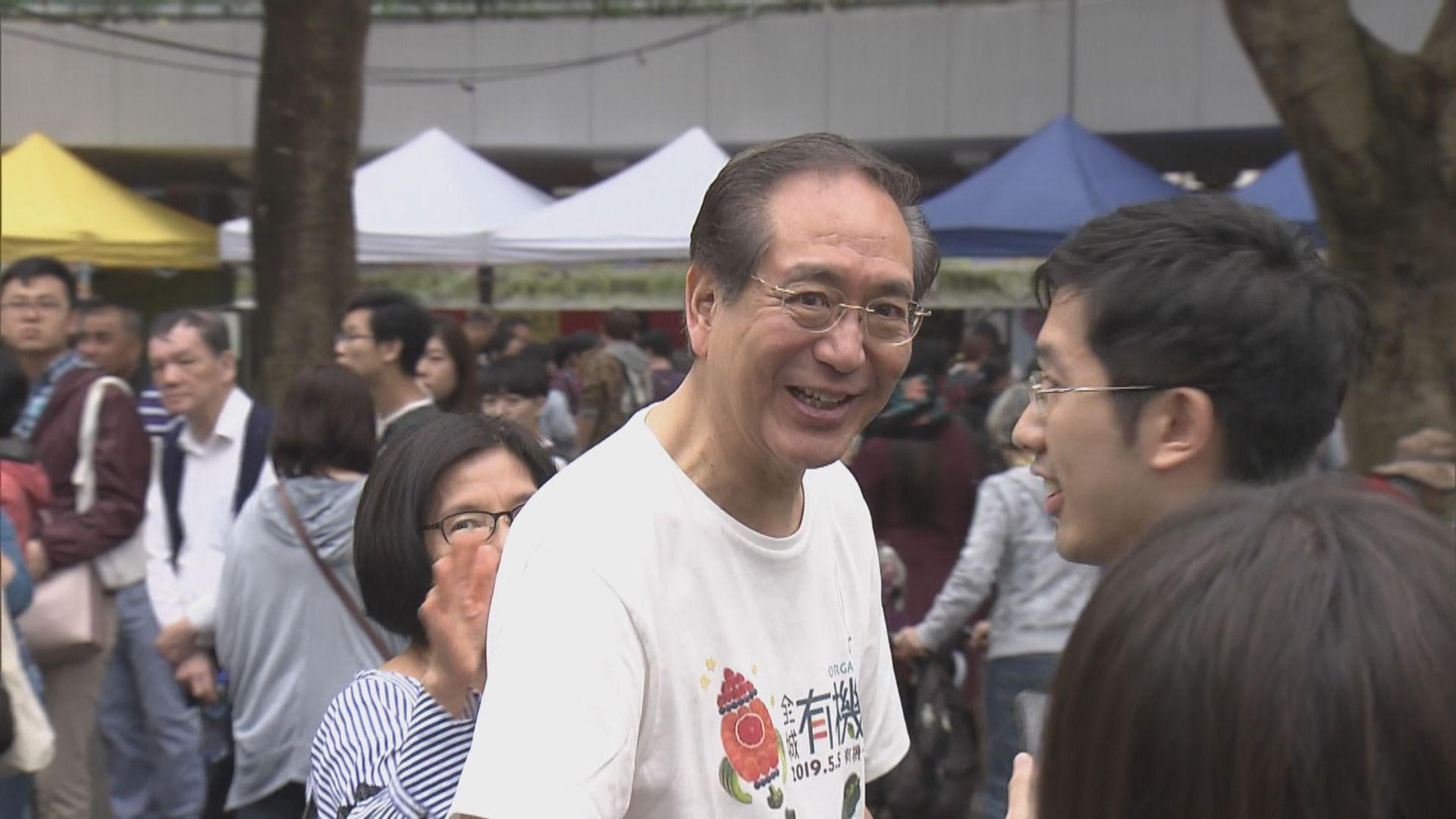 李國章沒回應如何處理戴耀廷港大教席