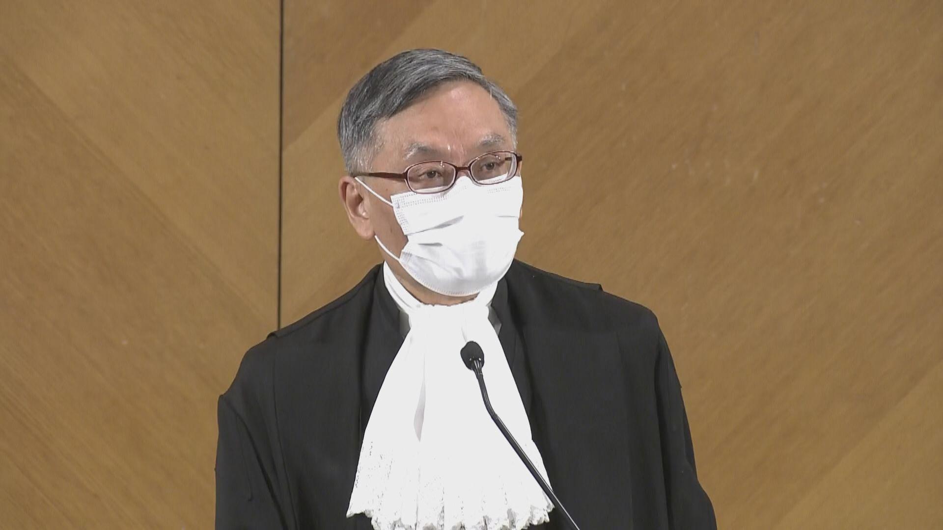 張舉能:量刑由上訴庭處理上訴或覆核更有效