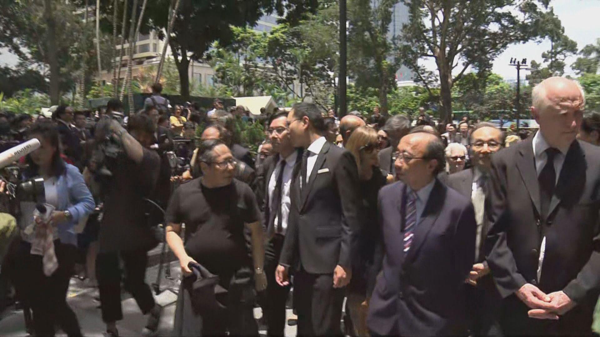 法律界發起靜默遊行反對政治檢控