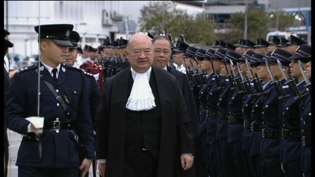 馬道立:普通法制度確保香港成功持續