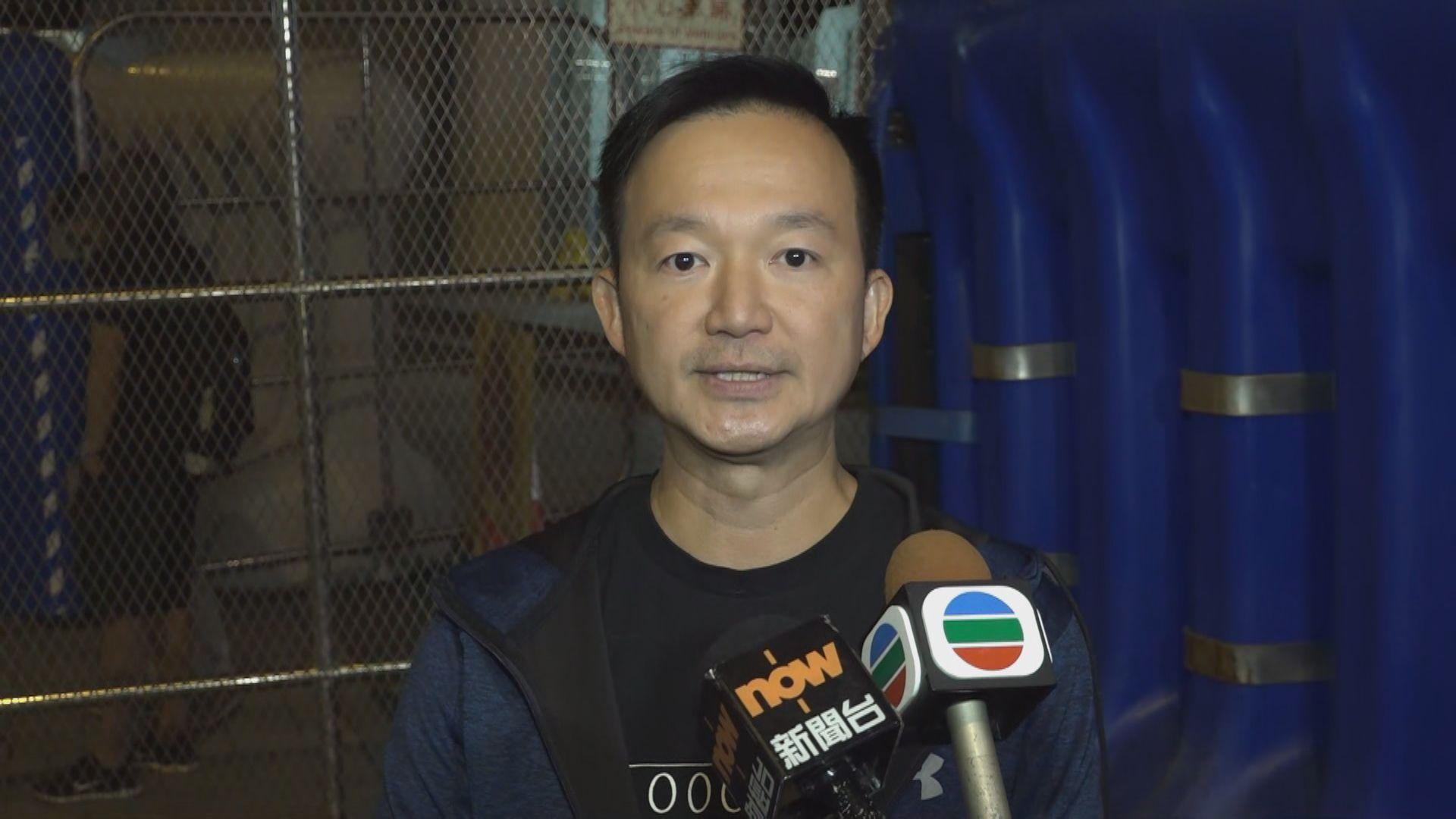 區諾軒及陳志全批警方大肆拘捕議員是與民為敵