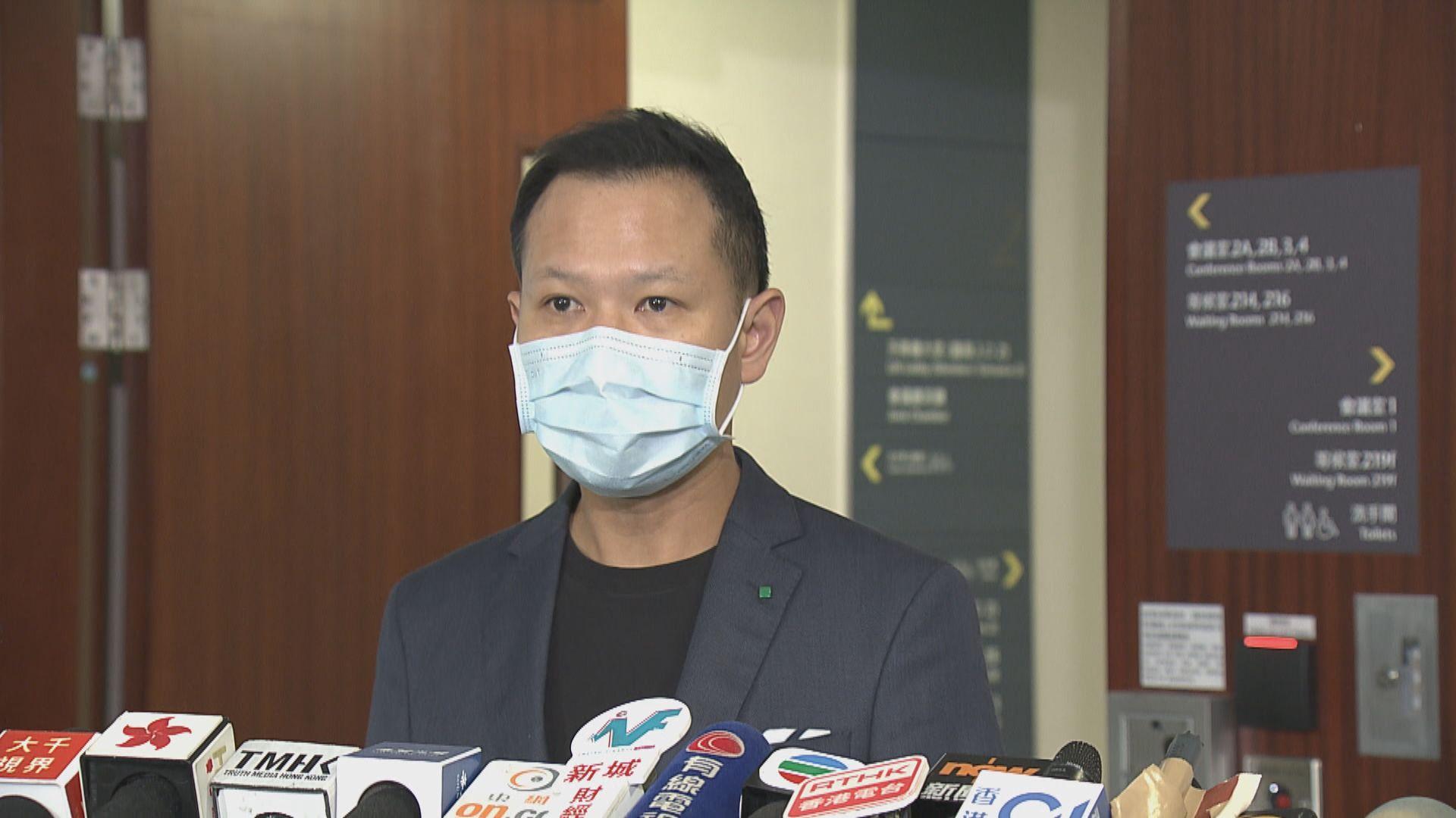 郭榮鏗反駁葉劉 指國安法案件須設陪審團