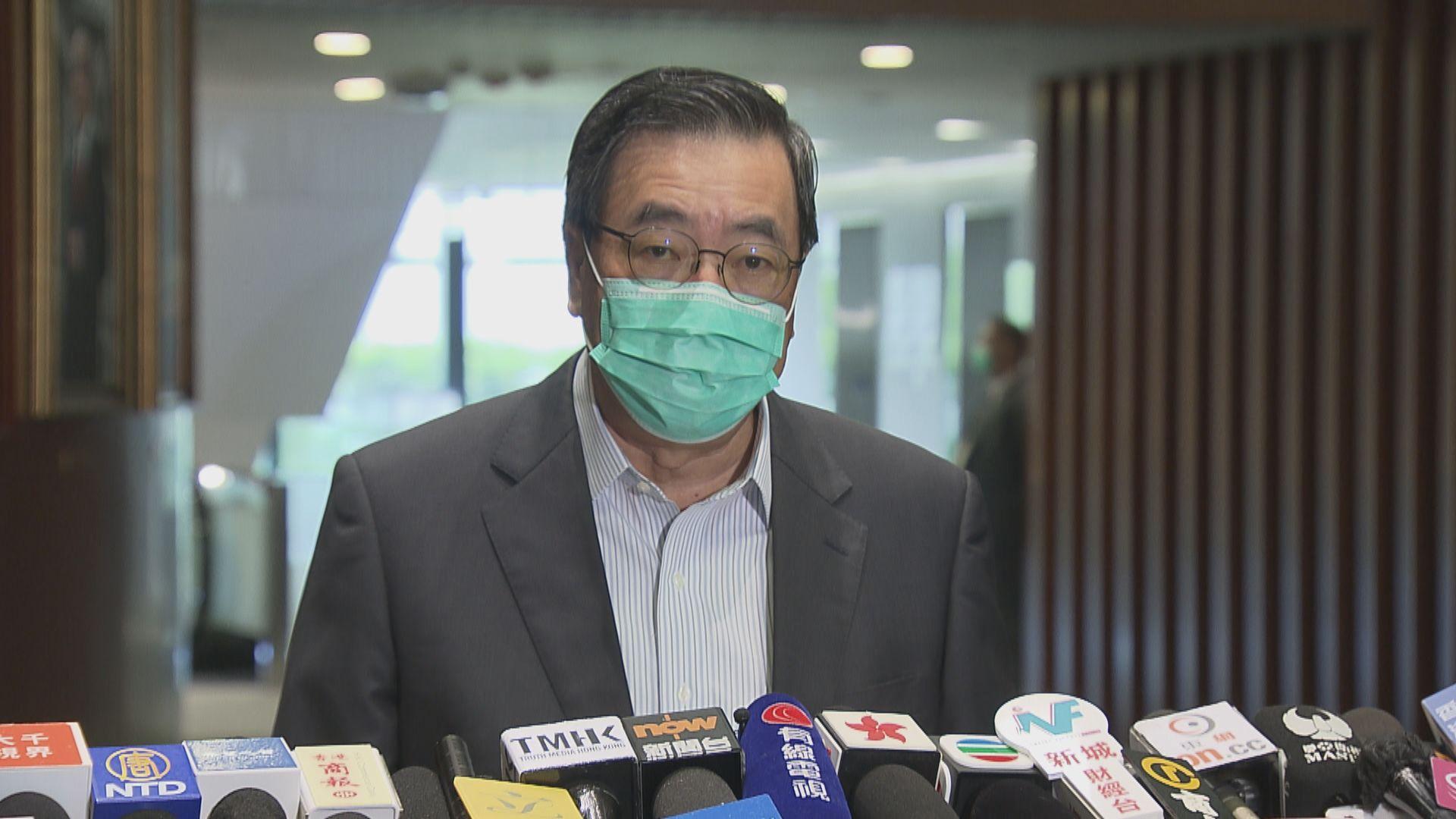 梁君彥指示陳健波下周一主持內會主席選舉