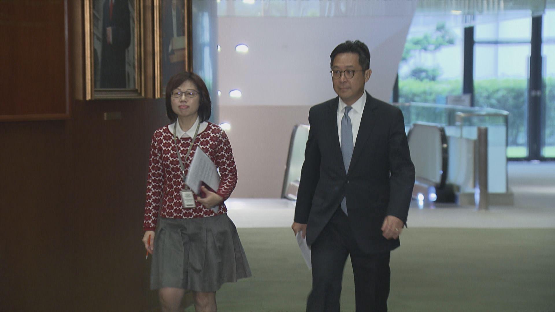 陳維安︰秘書處按議事規則處事