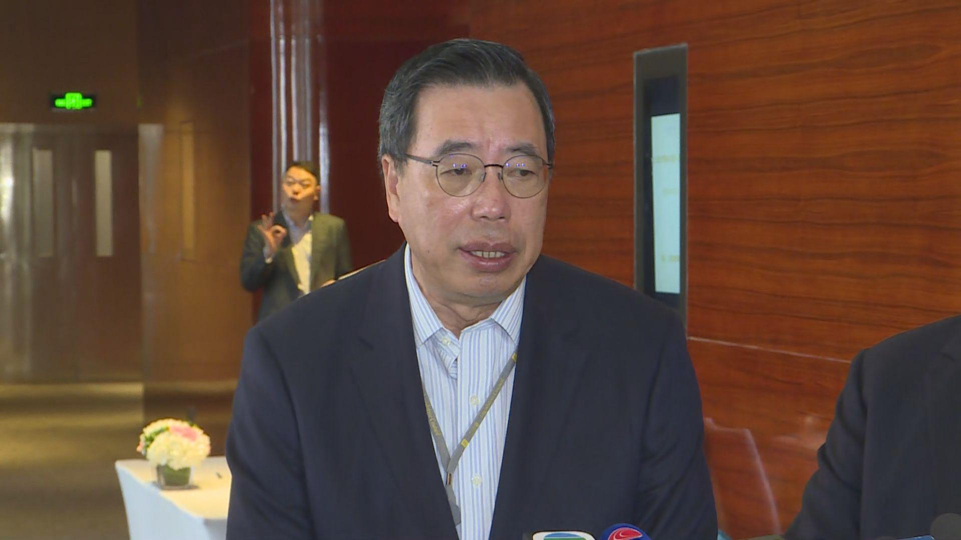 梁君彥:無與黃柳權討論過逃犯條例事宜