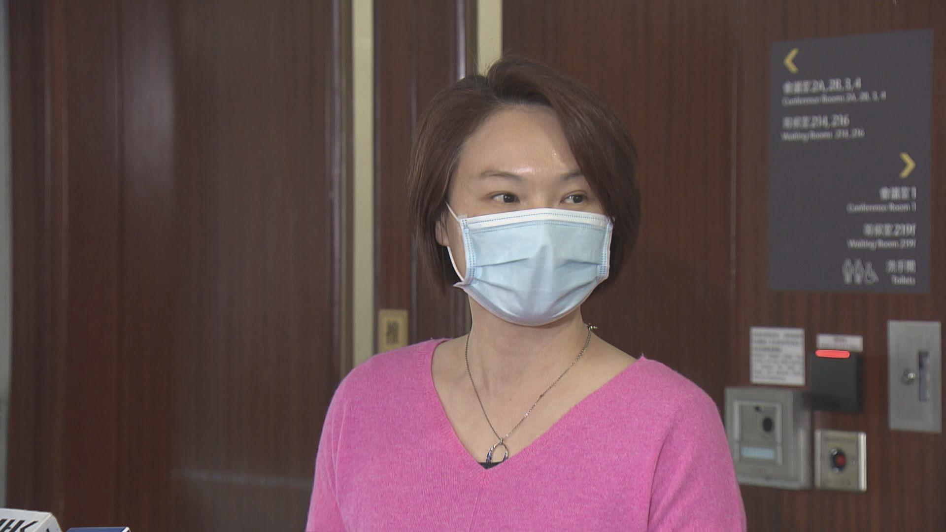 李慧琼:若內會主席重新選舉願退選