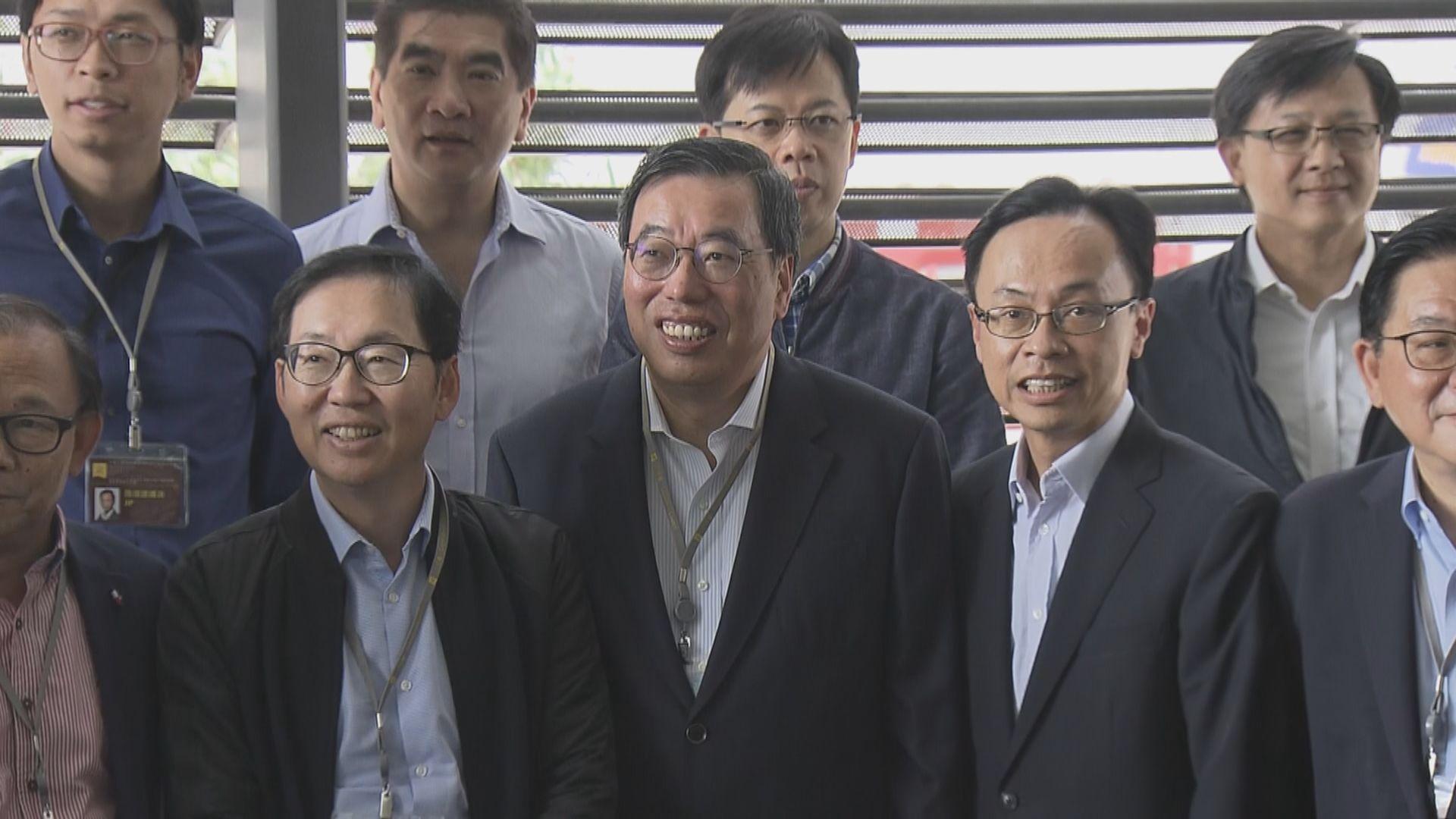 梁君彥及聶德權均對7名泛民退考察團感失望
