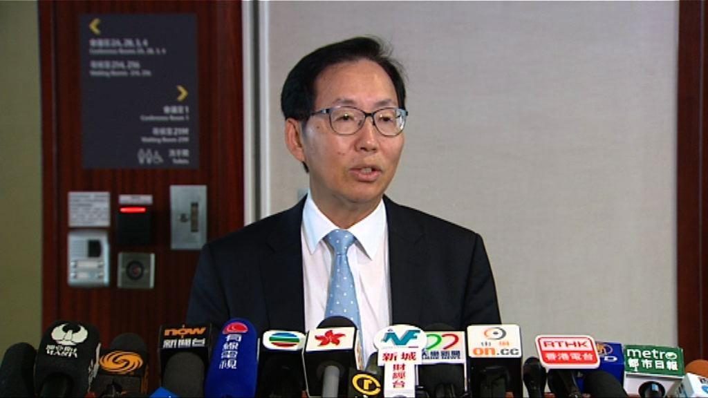 陳健波接納新增教育撥款提前審議