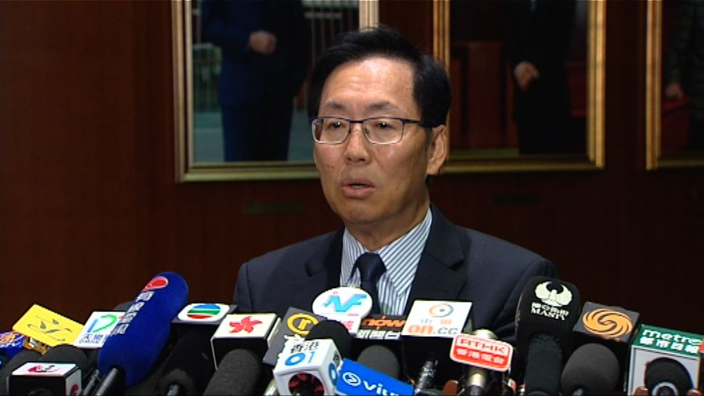 陳健波:不就財委會主席指示開特別會議