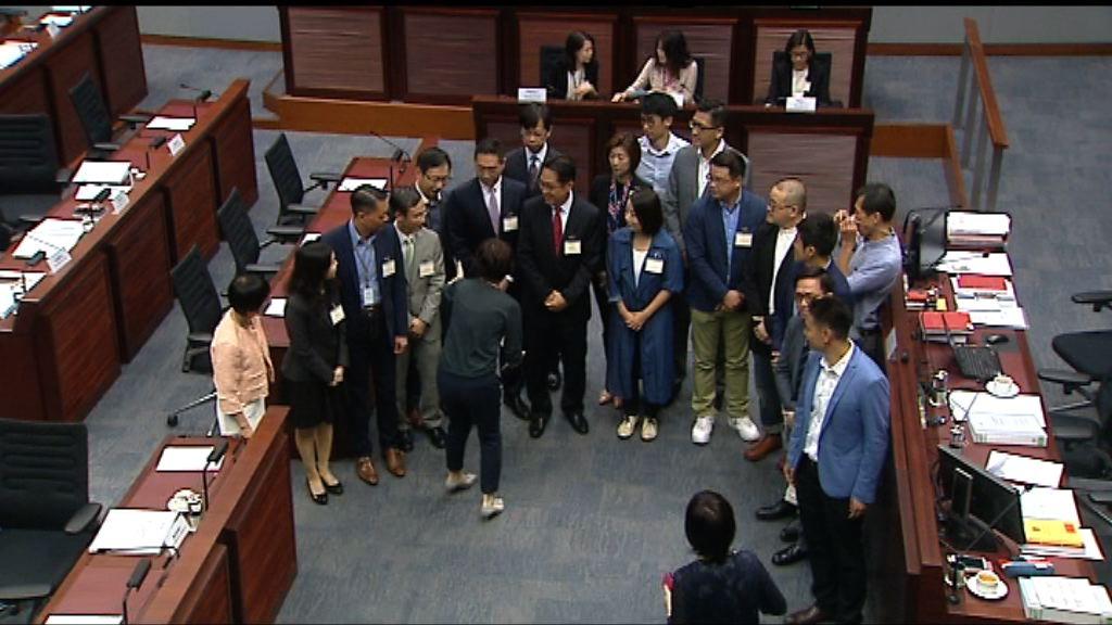 立法會為新一屆議員舉行簡介會