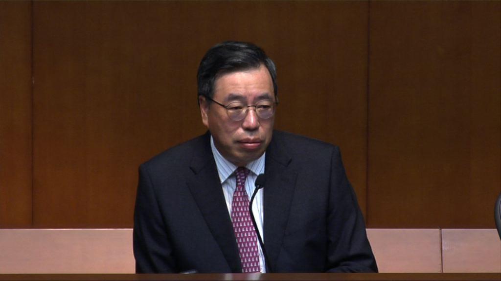 梁君彥承認處理一地兩檢法案上可做得更好