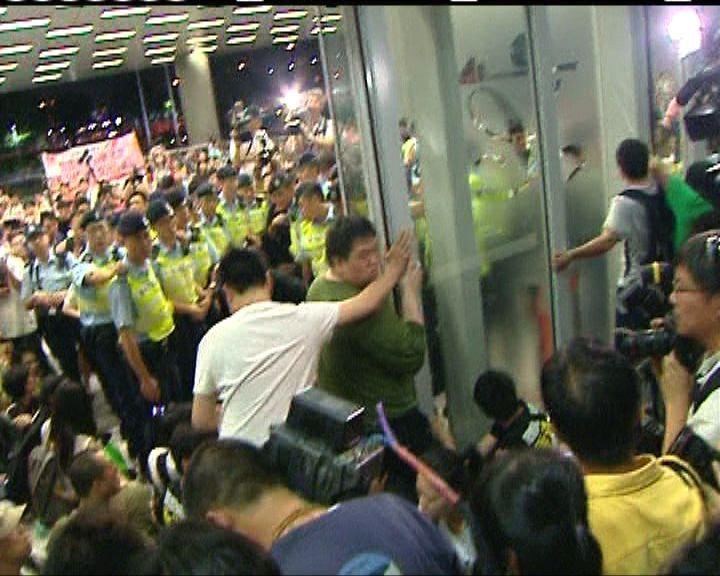 立法會行管會將跟進示威者闖入大樓