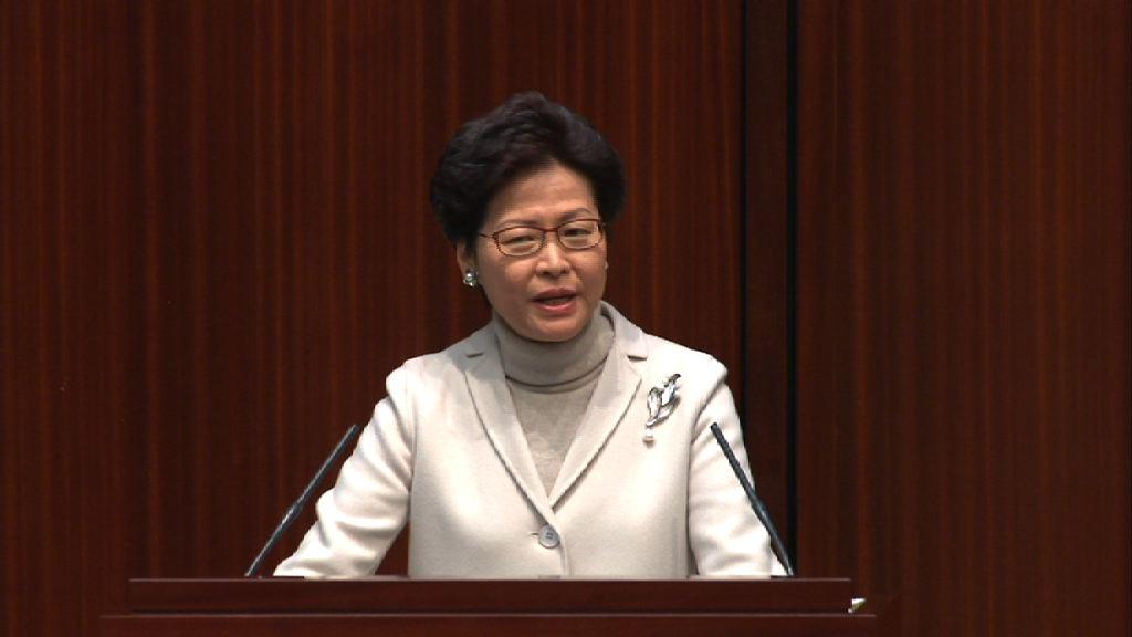 林鄭:政策常變有人對僭建掉以輕心