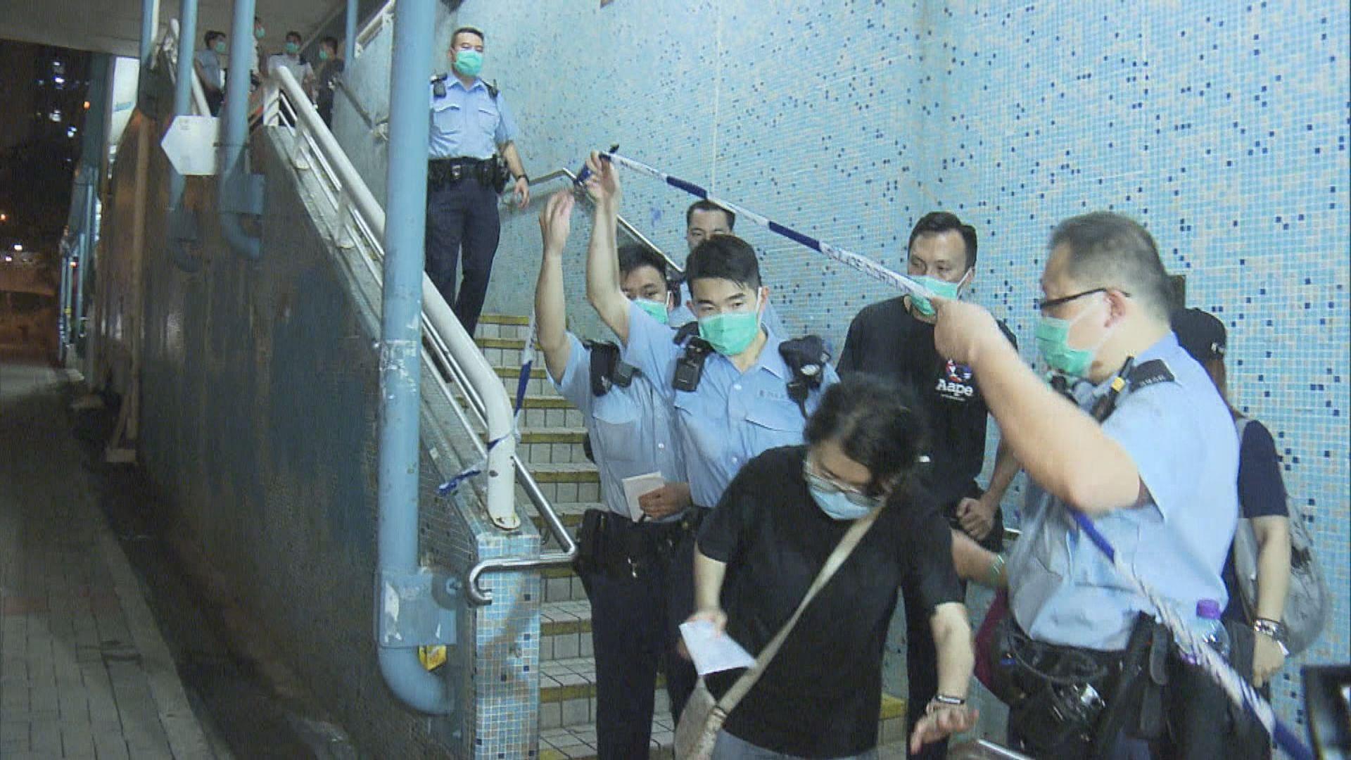 樂富連儂牆衝突多人傷 警拘至少十人