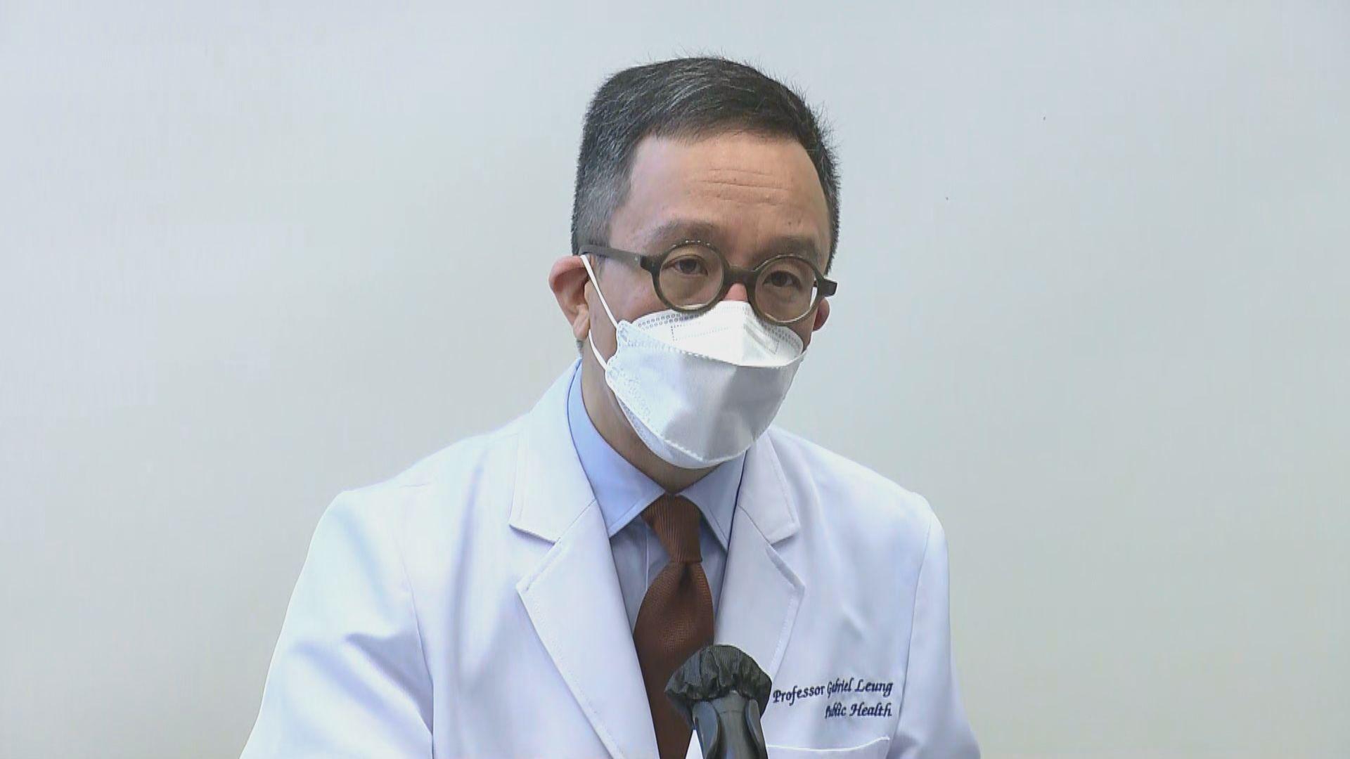 梁卓偉:抗疫封區仍滯後