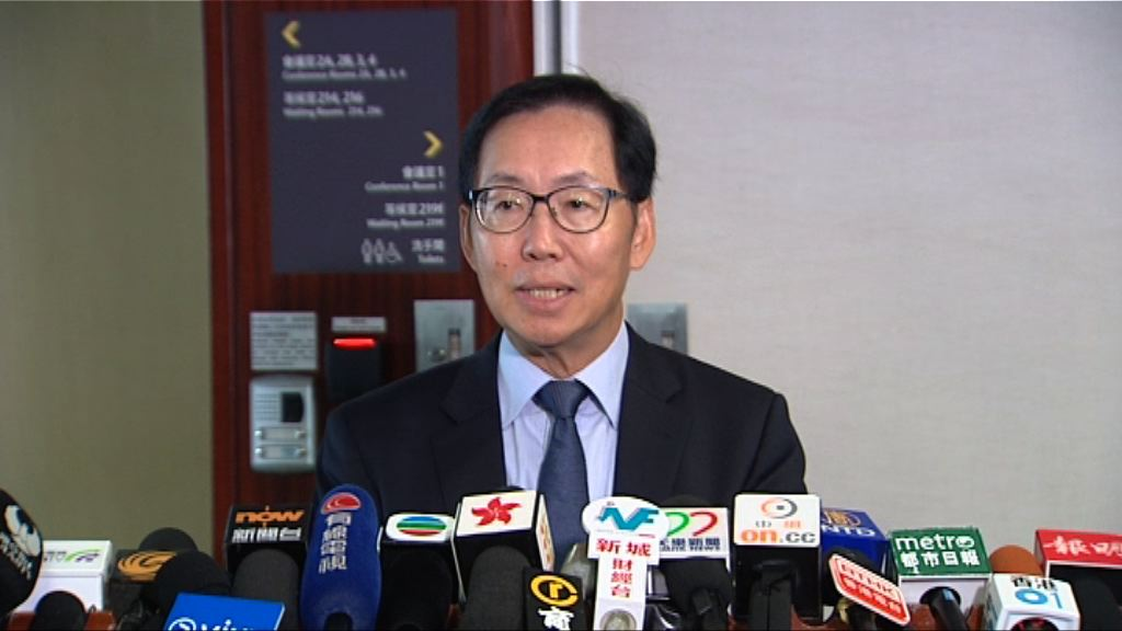 陳健波相信議員尊重裁決 不擔心會出現衝擊