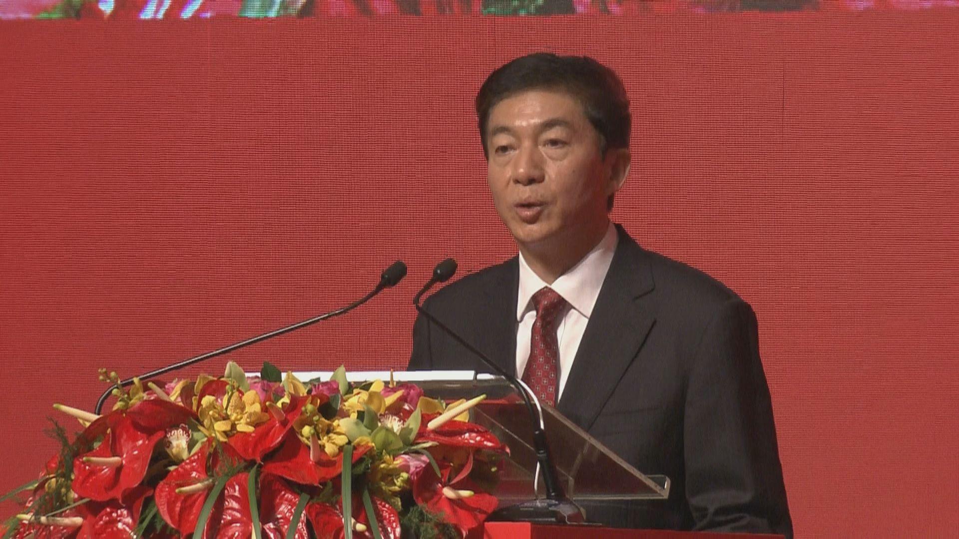 駱惠寧:林鄭月娥帶領警隊在非常時期展現非常勇氣
