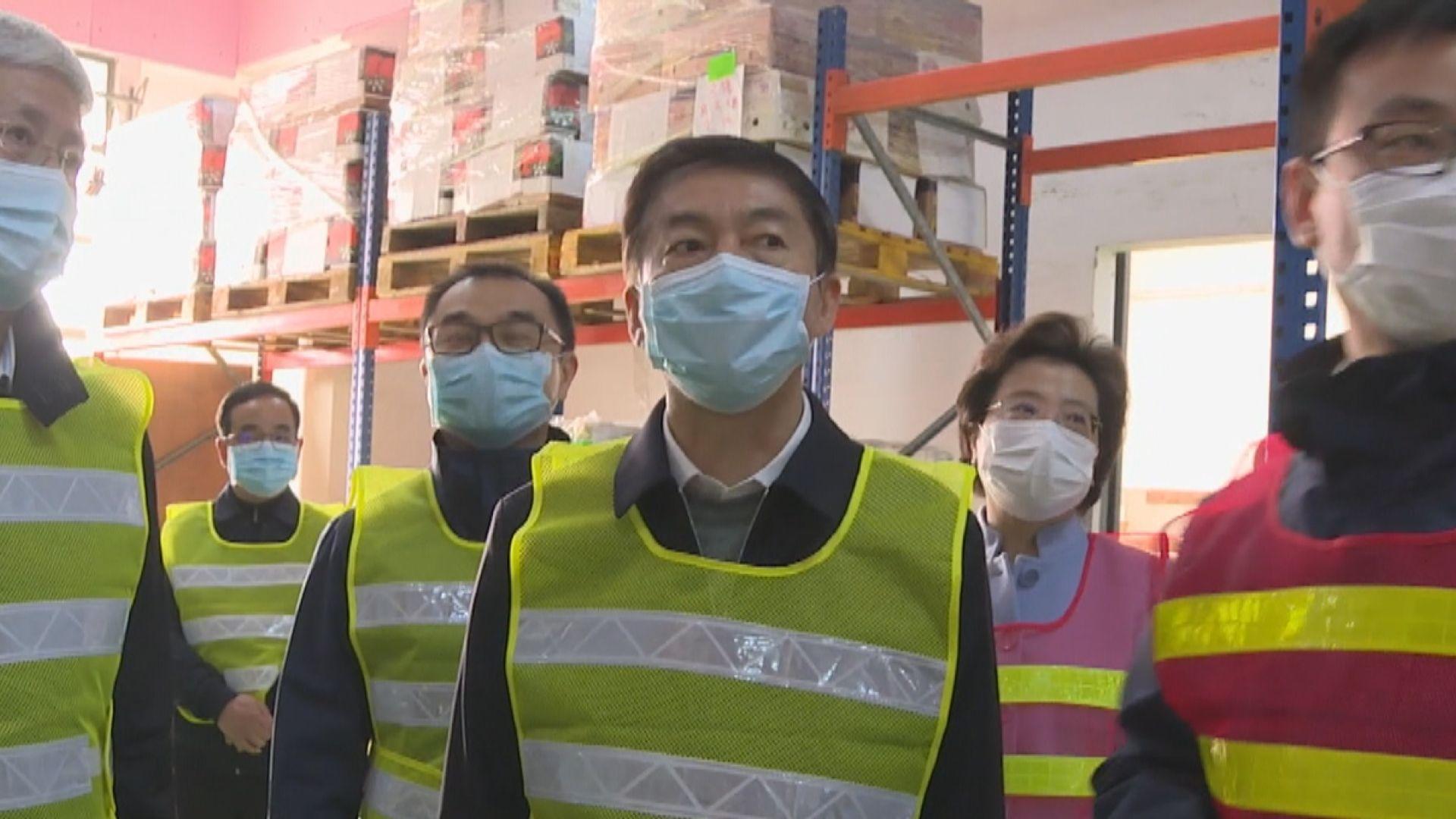 駱惠寧讚揚多間在港中資企業應對疫情的政策