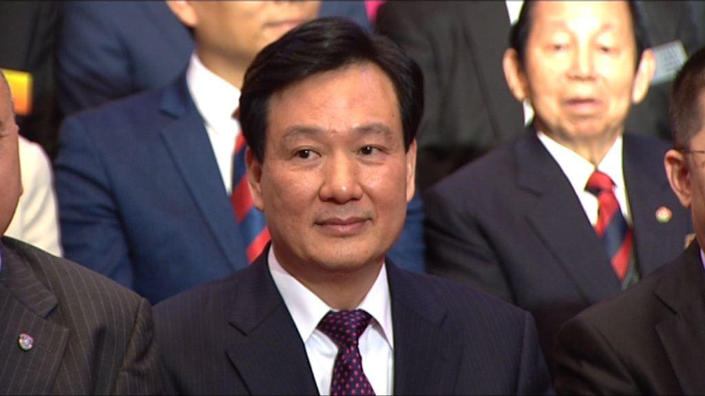 中聯辦林武殷曉靜退休被免去職務