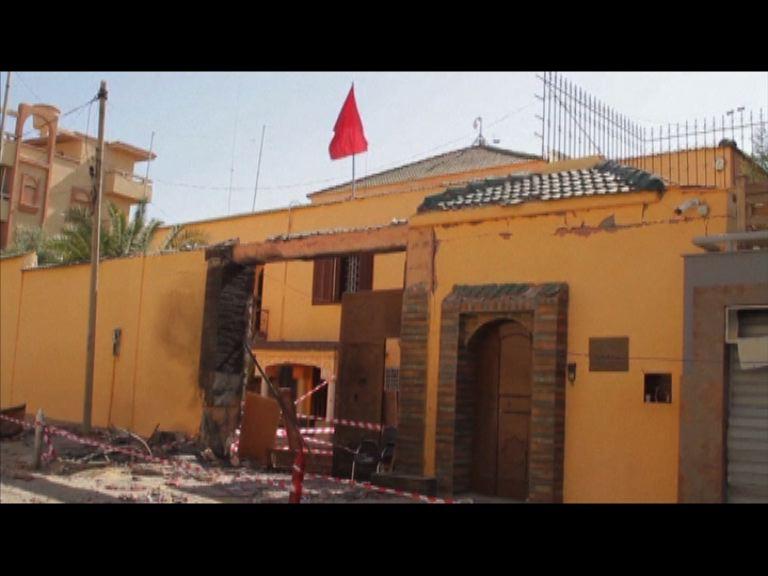 摩洛哥駐利比亞大使館遇襲