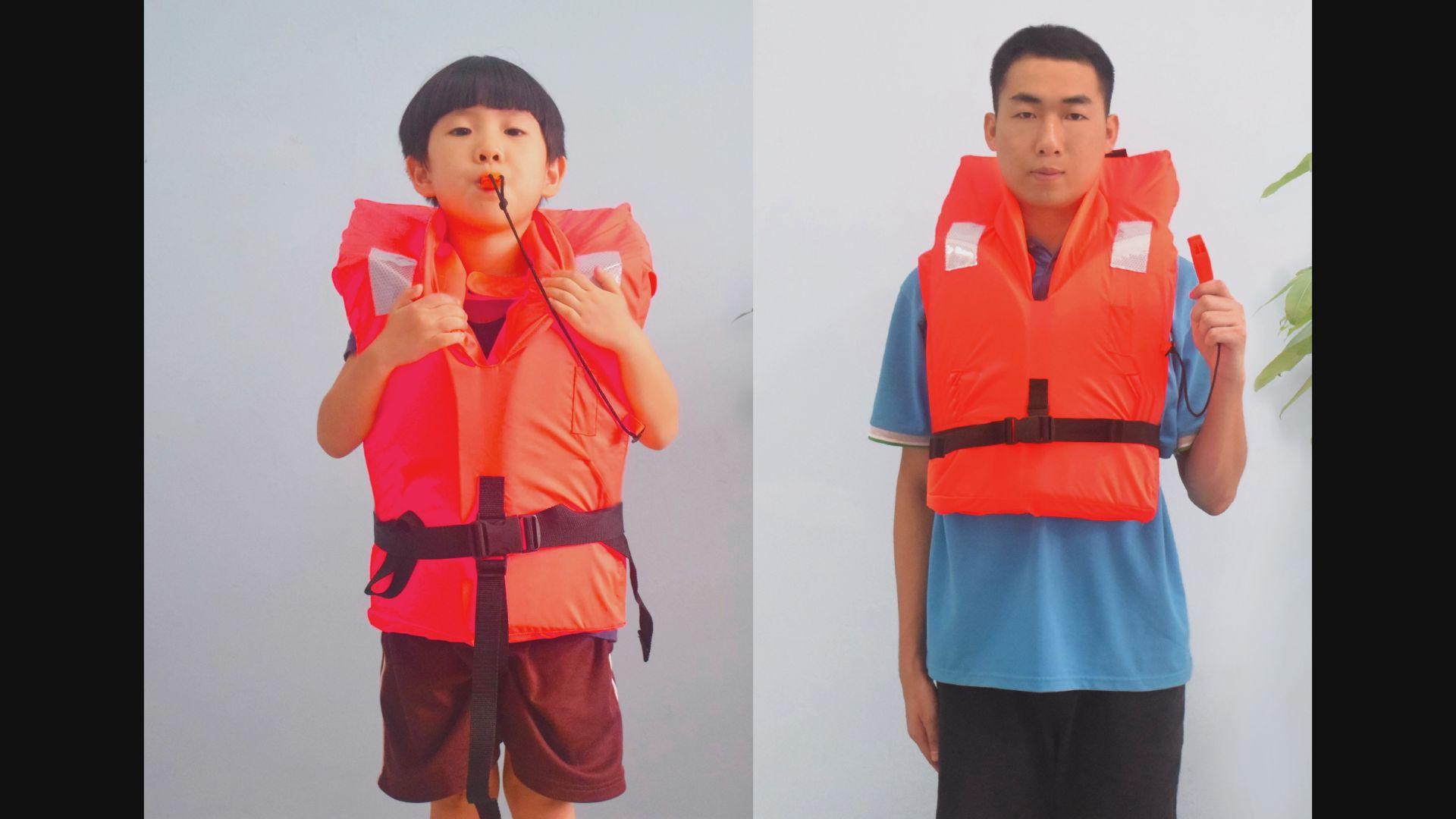 理工大學研發成人兒童適用救生衣