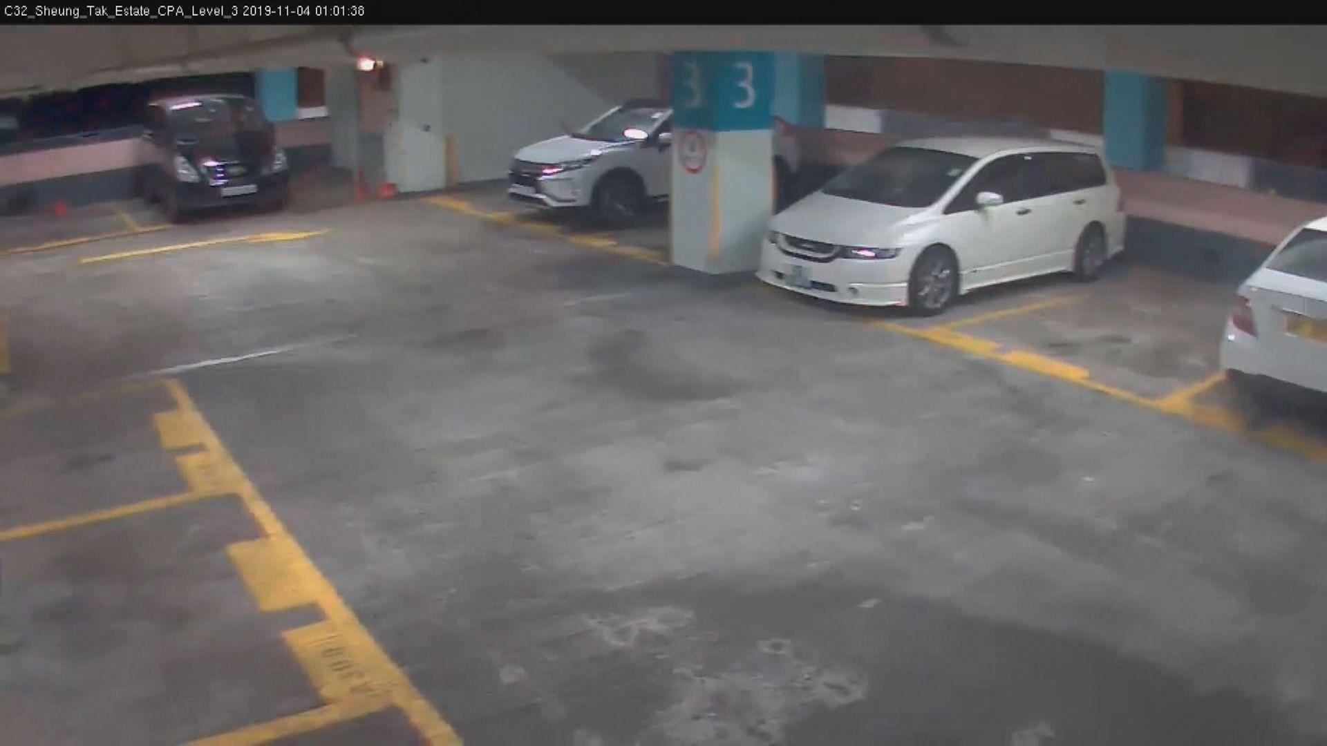 領展再公開多段停車場三樓閉路電視片段