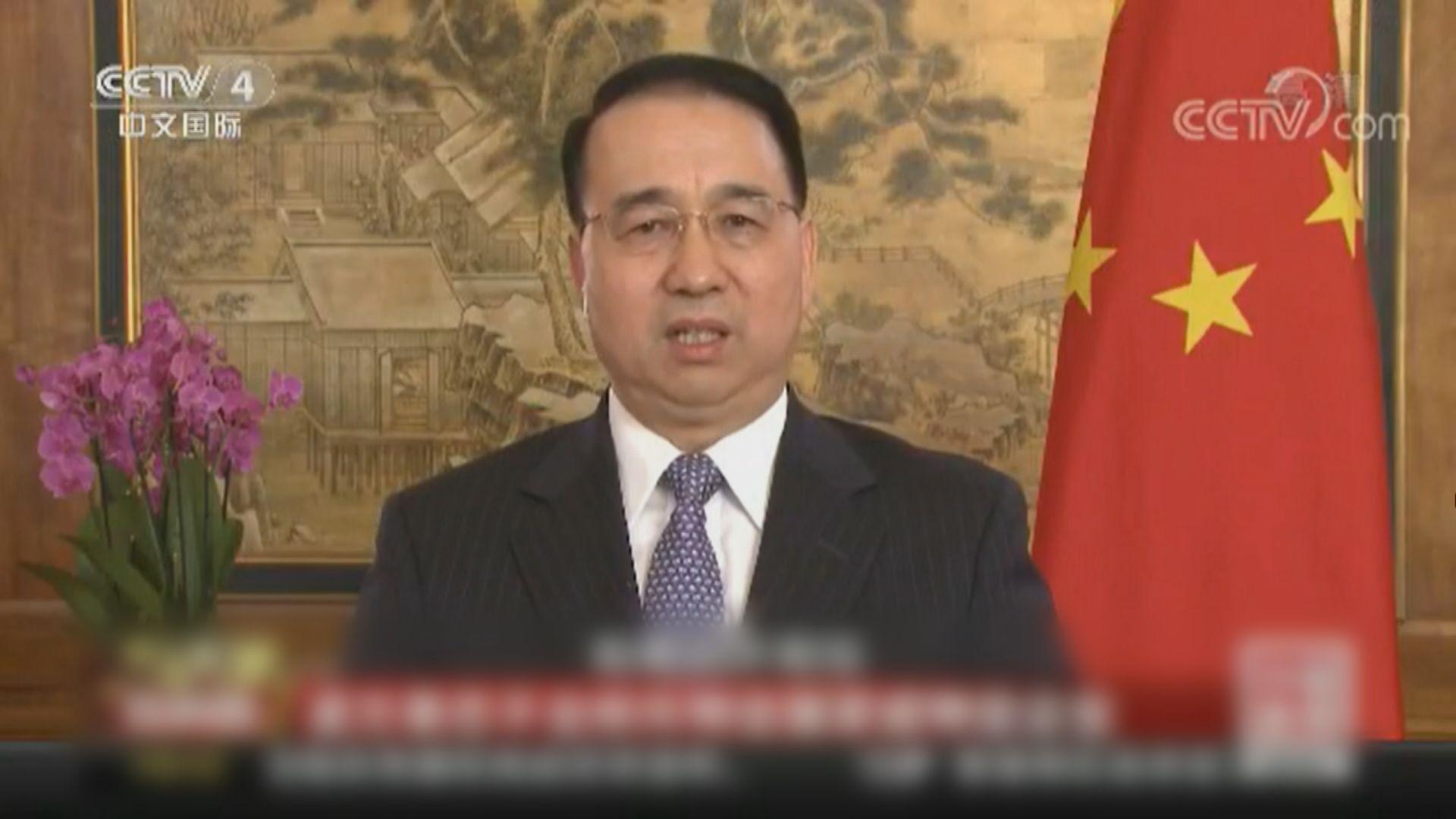 中央任命劉光源為外交部駐港公署特派員 接替謝鋒職務