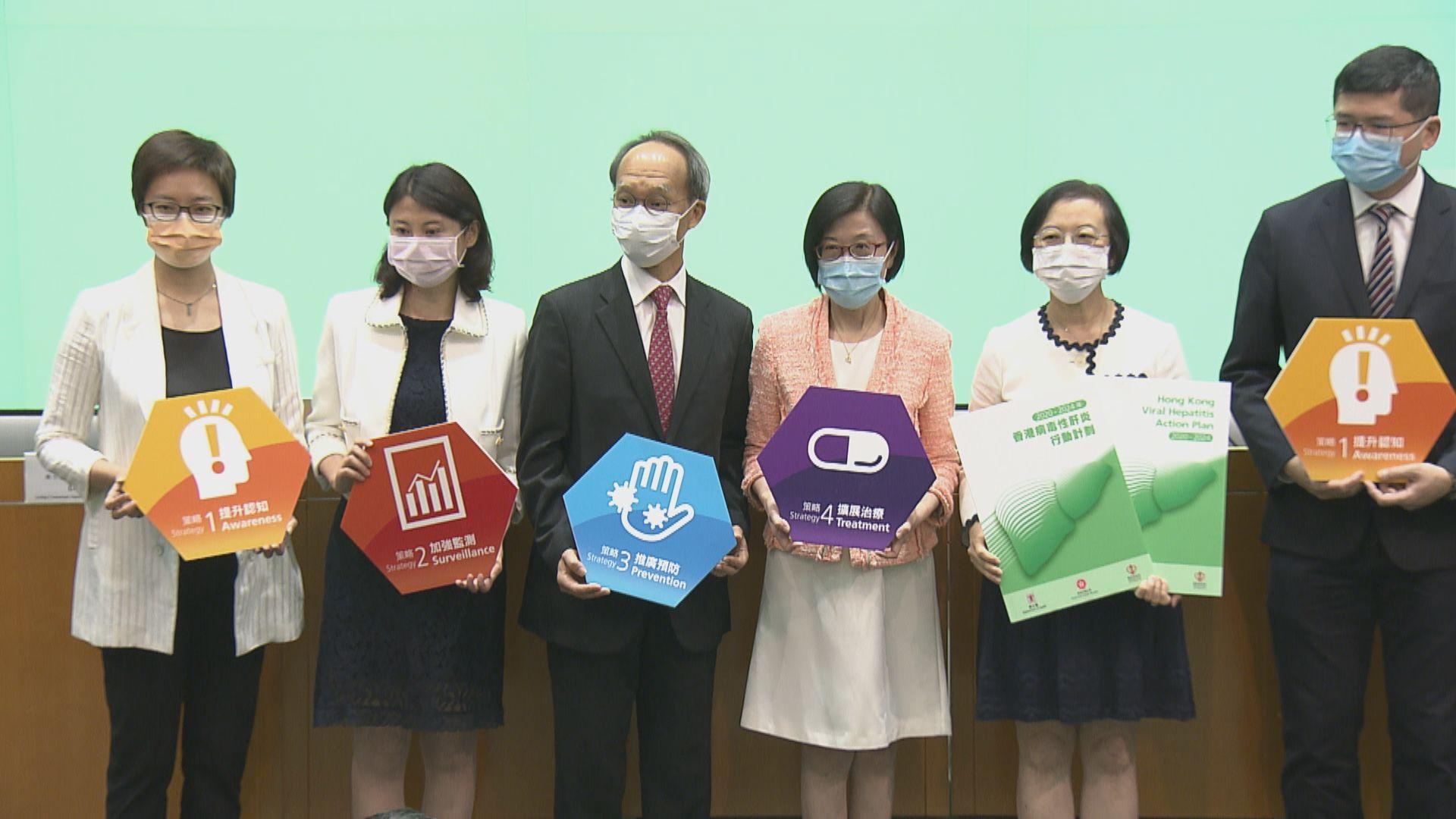 政府制訂策略 降乙型及丙型肝炎患病及死亡率