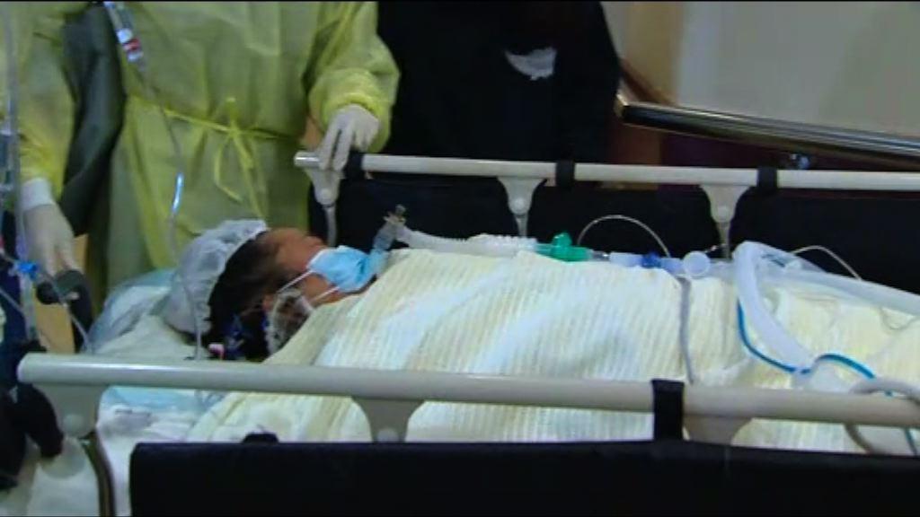肝衰竭女病人鄧桂思完成換肝手術