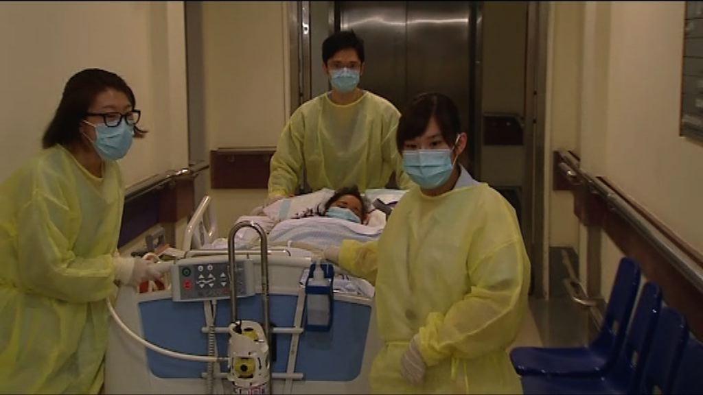 活肝移植手術兩病人仍留院
