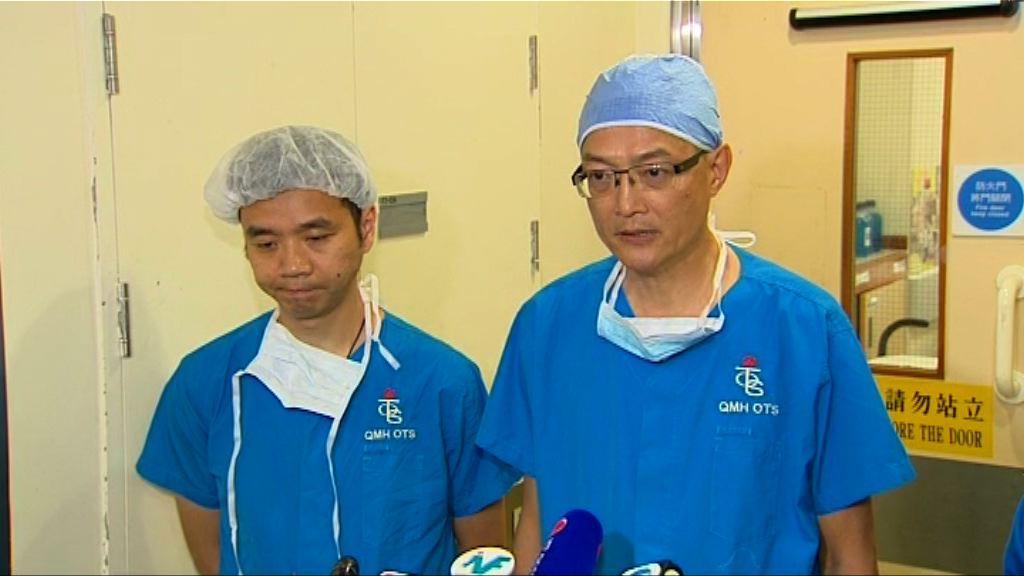 鄧桂思完成第二次肝臟移植手術